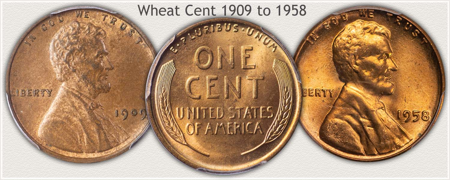Wheat Cents Obverse and Reverse