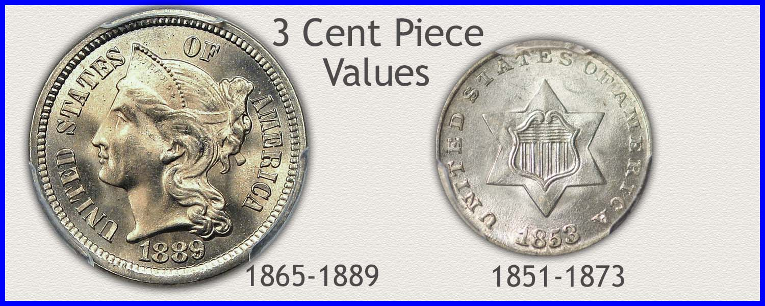Visit...  More 3 Cent Coin Values