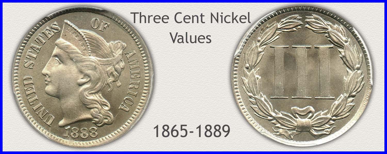 Go to...  Three Cent Nickel Values