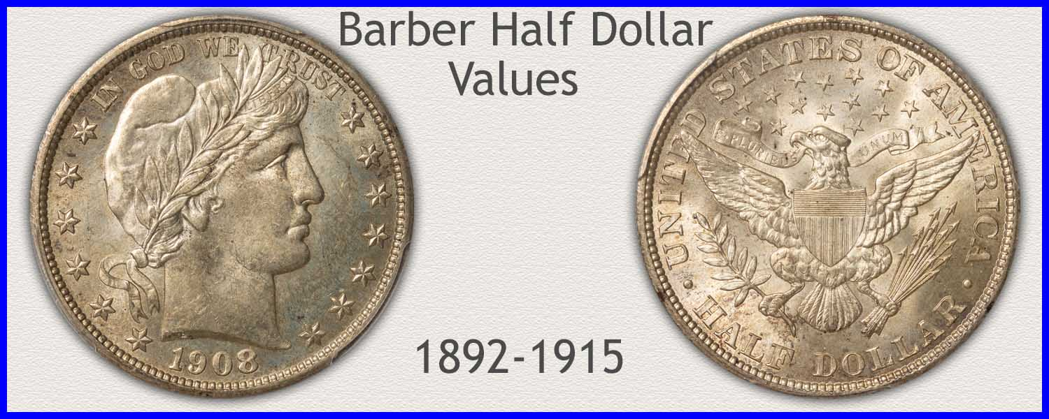 Go to...  Barber Half Dollar Value