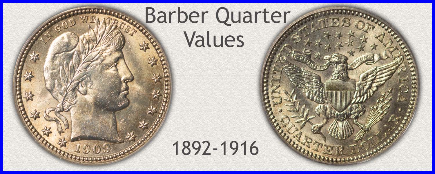 Visit...  Barber Quarter Values
