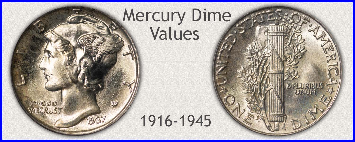 1945 Dime Value | Discover Your Mercury Head Dime Worth