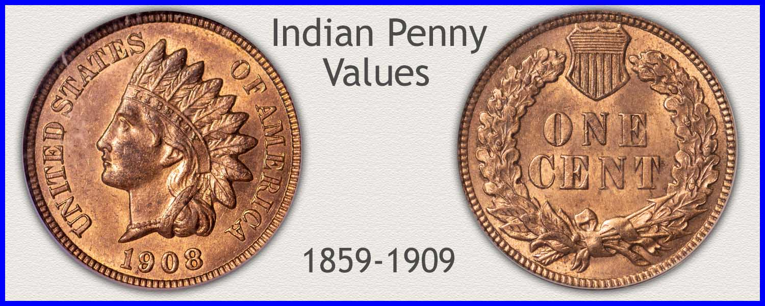 Discover... The Value of all Your Indian Pennies