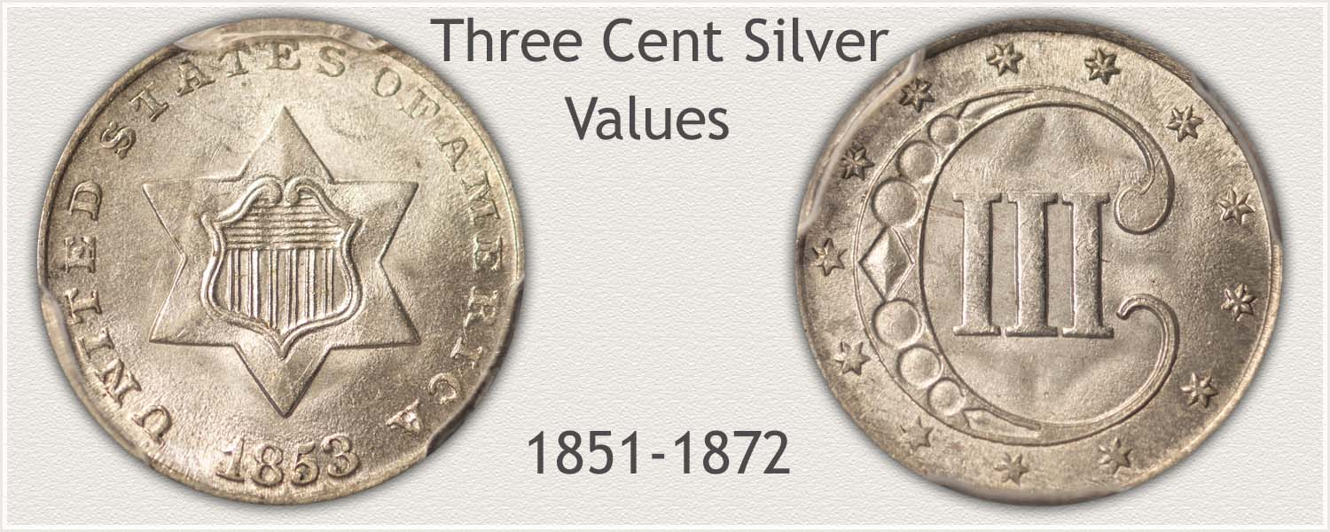 Uncirculated Three Cent Silver Piece