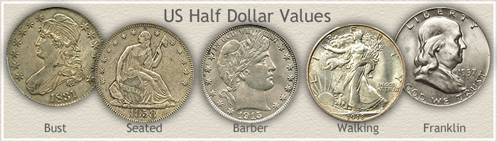 Visit... US Half Dollar Values