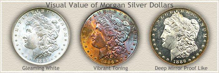 Rare 1886 Morgan Silver Dollar