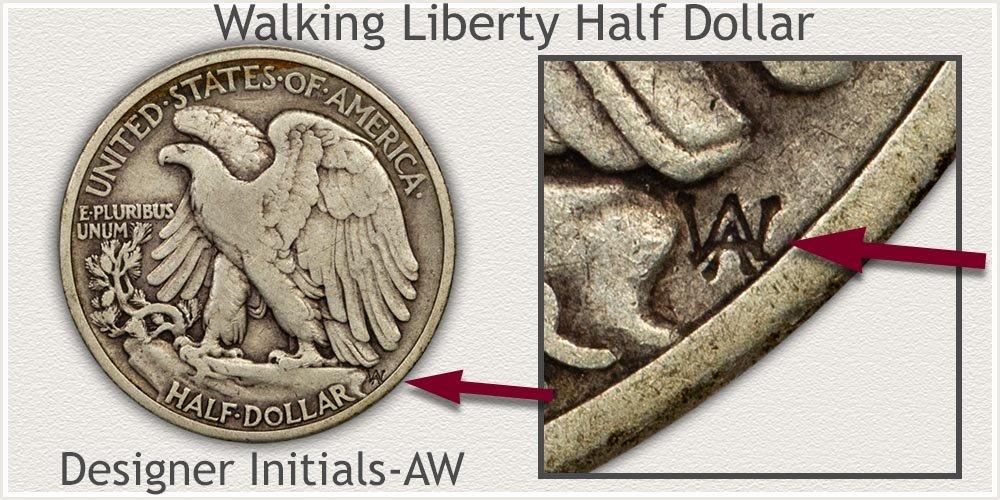 Walking Liberty Half Dollar Designer Adolph A. Weinman