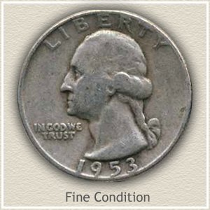 Wahsington Quarter Fine Condition
