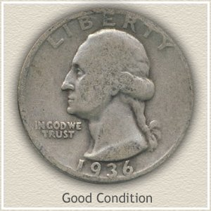 1948 Quarter Good Condition