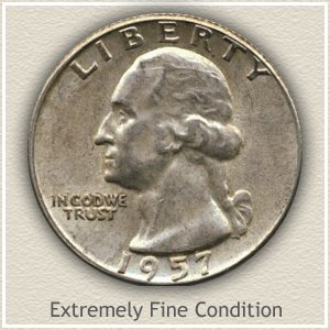 1962 Quarter Extremely Fine Condition