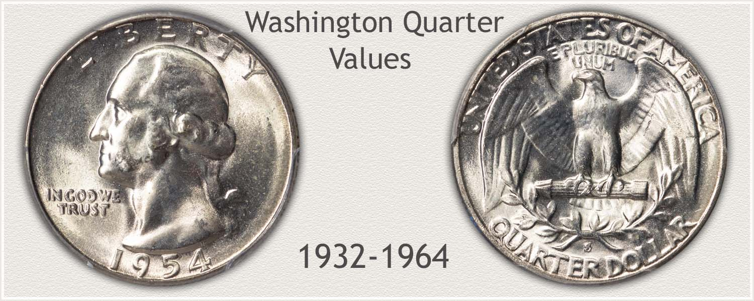 Uncirculated Silver Washington Quarter
