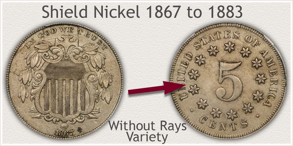 Variety II: Without Rays on Reverse Shield Nickel